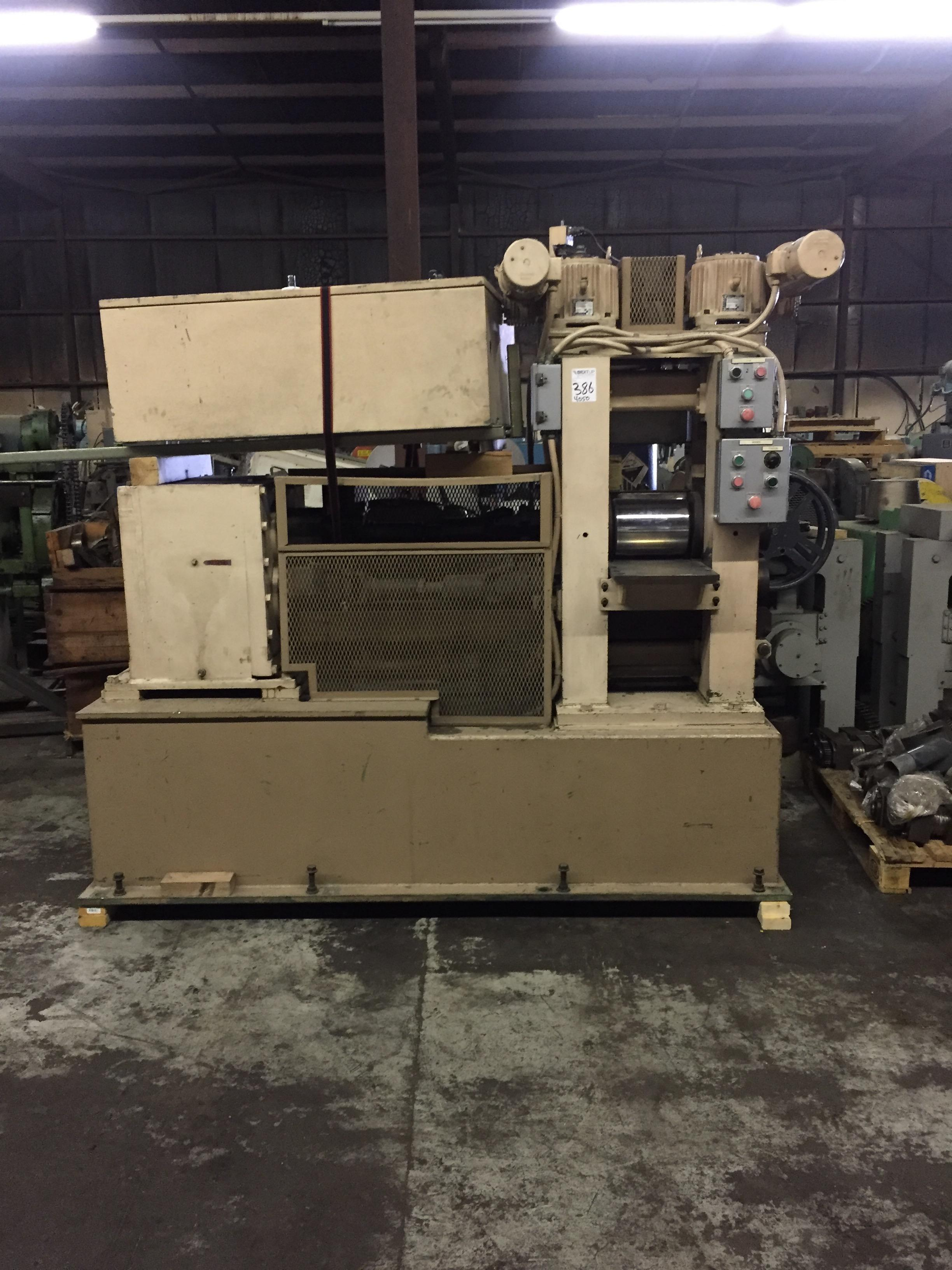 "BHS TORIN 8"" X 10"" 2HI ROLLING MILL WITH POWER SCREWDOWNS"