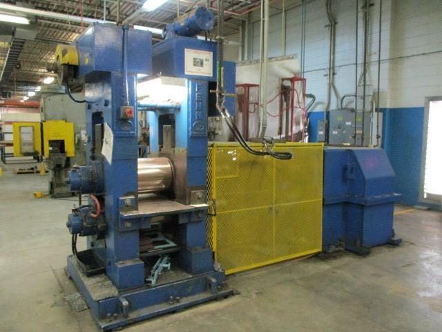 "FENN MODEL 101 12"" X 16"" 2HI ROLLING MILL WITH POWER SCREWDOWNS"